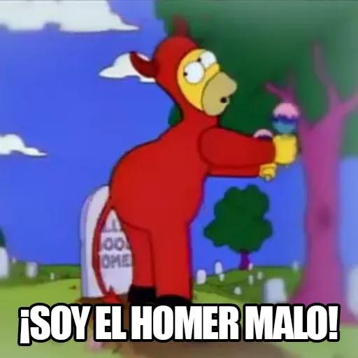 [ES] Simpsons Memes II - Sticker 9