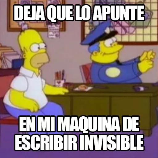 [ES] Simpsons Memes II - Sticker 20