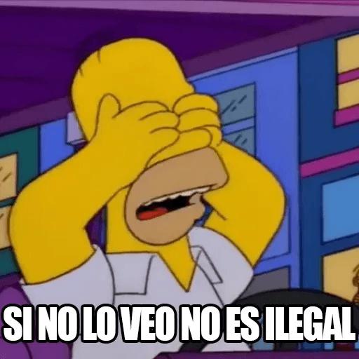 [ES] Simpsons Memes II - Sticker 16