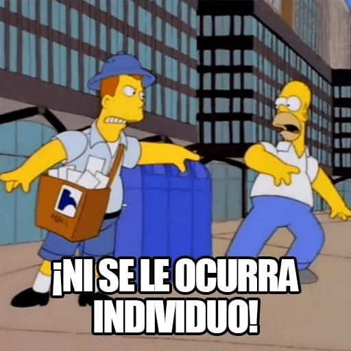 [ES] Simpsons Memes II - Sticker 13