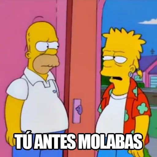 [ES] Simpsons Memes II - Sticker 10