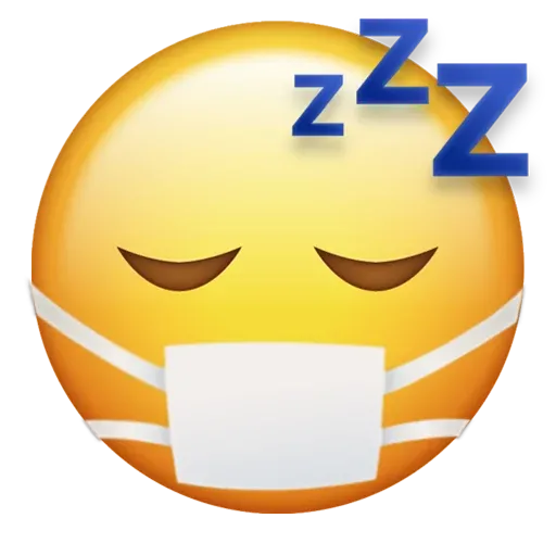 Mask emoji - Sticker 5