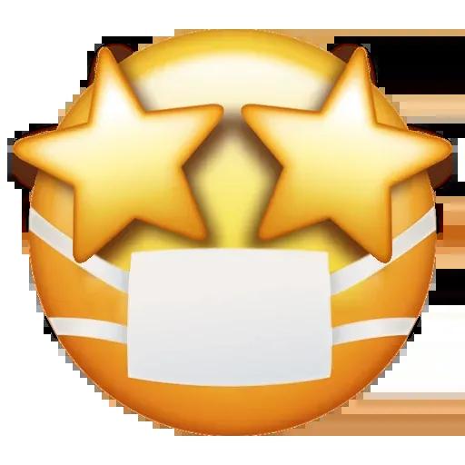 Mask emoji - Sticker 4