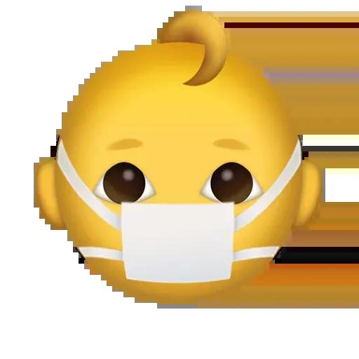 Mask emoji - Sticker 16