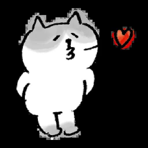 懶洋洋喵之助4 - Sticker 2