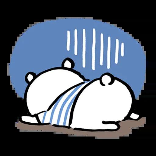 搞笑白熊 - Sticker 19