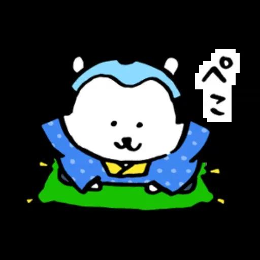 搞笑白熊 - Sticker 30