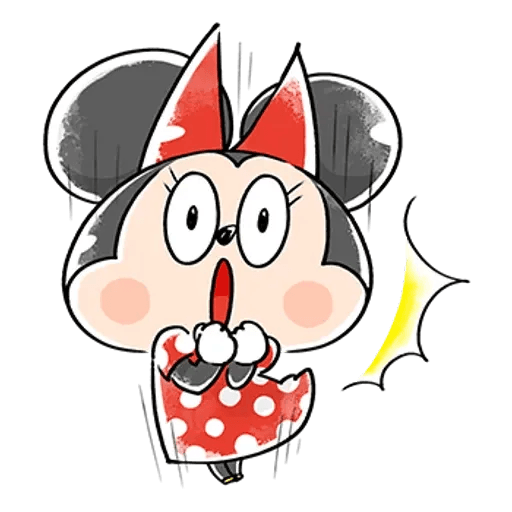 Mickey Mouse and friend - Sticker 26