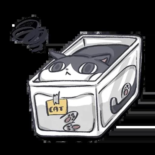 廢貓阿米1 - Sticker 9