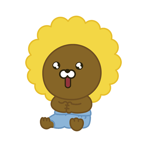 little kakao friends - Sticker 2