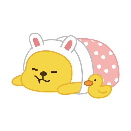 little kakao friends - Sticker 14