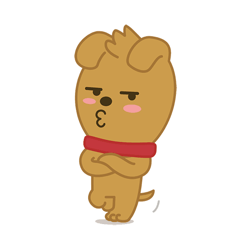 little kakao friends - Sticker 3
