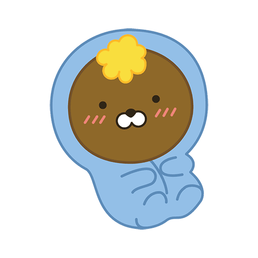 little kakao friends - Sticker 13