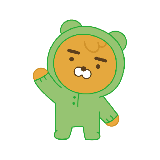 little kakao friends - Sticker 1