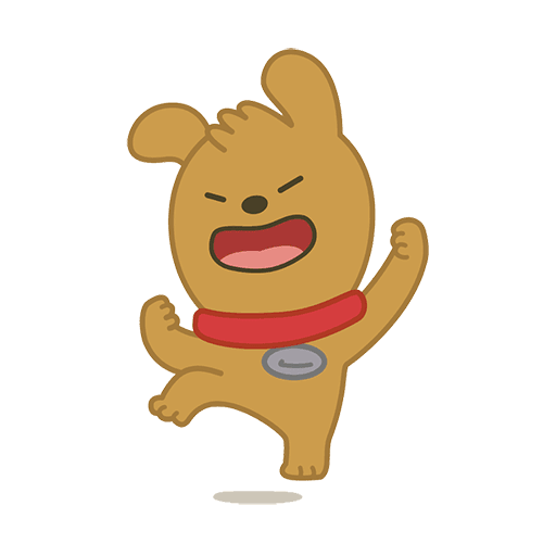 little kakao friends - Sticker 6