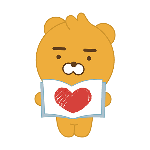 little kakao friends - Sticker 12