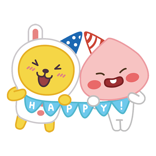 little kakao friends - Sticker 22