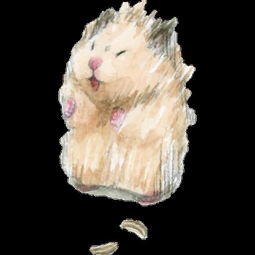 hamster b~ - Sticker 4