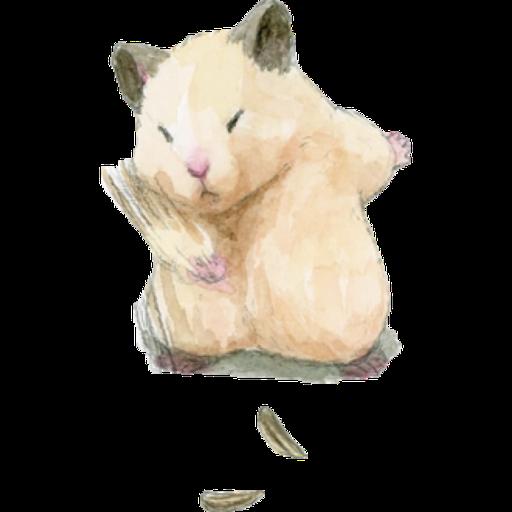 hamster b~ - Sticker 3