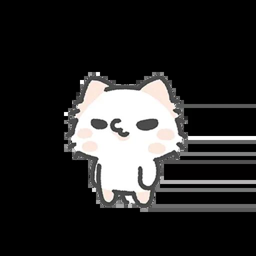 壞喵與毛喵.情侶恩愛日常篇 - Sticker 25