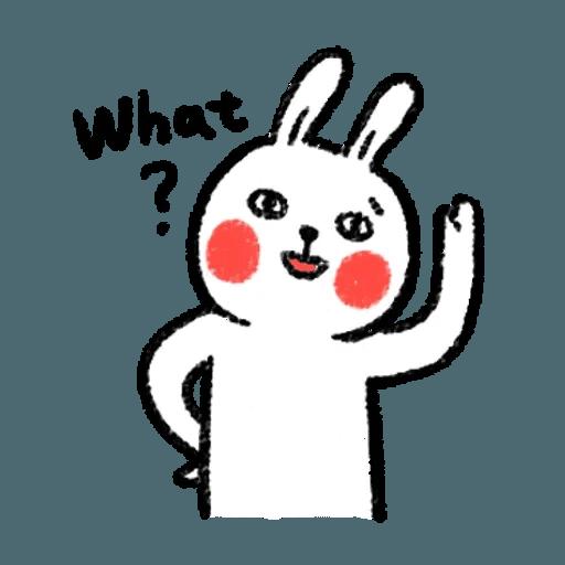懶散兔 - Sticker 20