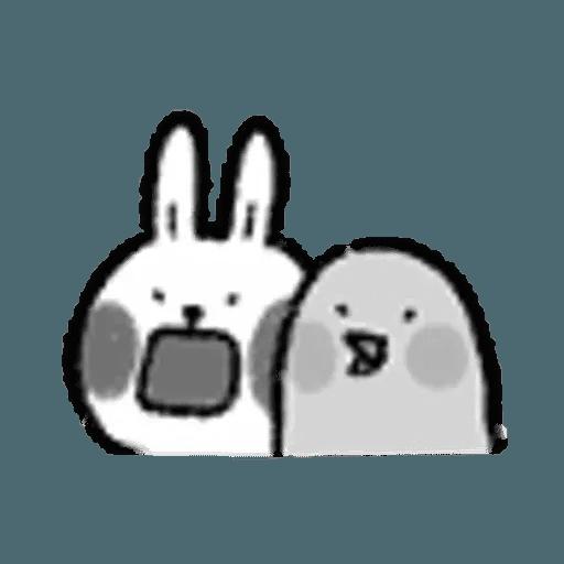 懶散兔 - Sticker 8