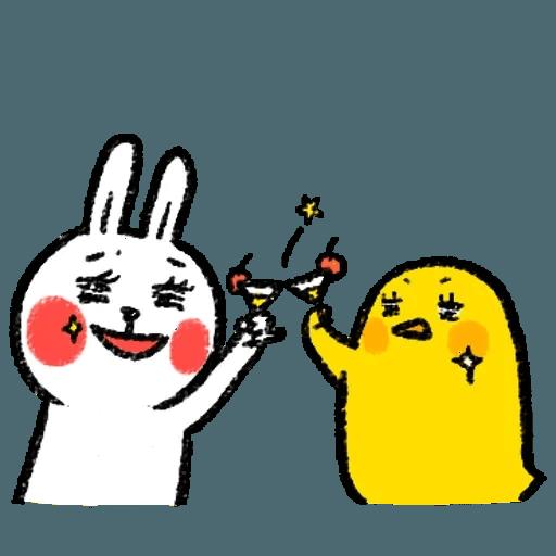 懶散兔 - Sticker 16