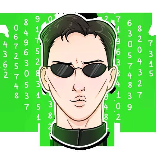 Matrix - Sticker 9