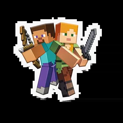 Minecraft - Sticker 1