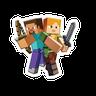 Minecraft - Tray Sticker