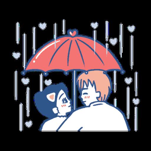 裸裸的愛-主人與寵物愛的調教❤️ - Sticker 3