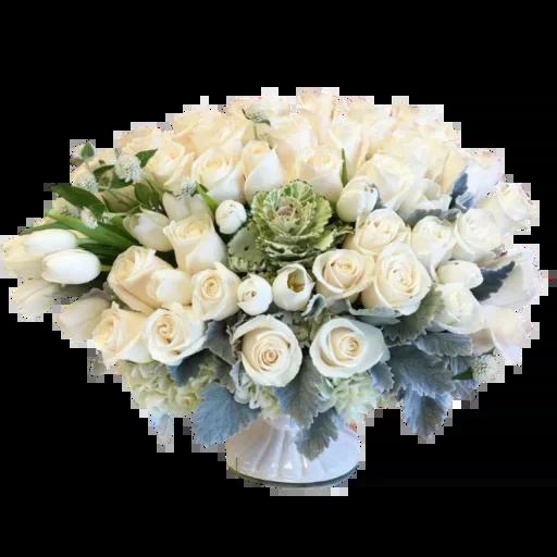 White Flowers @ykinanah - Sticker 20