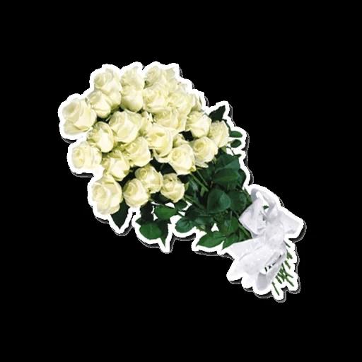 White Flowers @ykinanah - Sticker 11