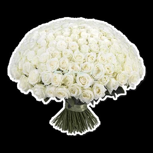 White Flowers @ykinanah - Sticker 15