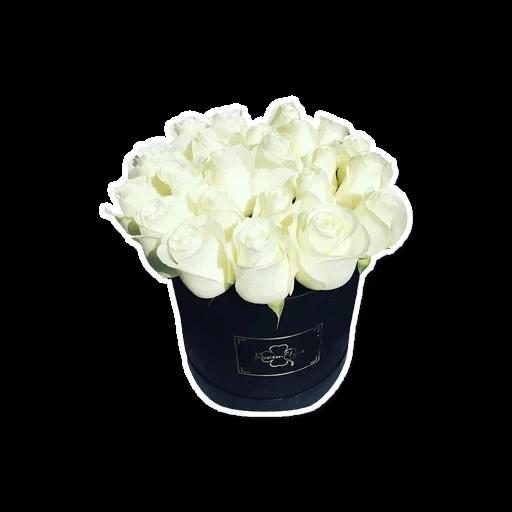 White Flowers @ykinanah - Sticker 9