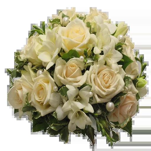 White Flowers @ykinanah - Sticker 26
