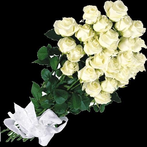 White Flowers @ykinanah - Sticker 28