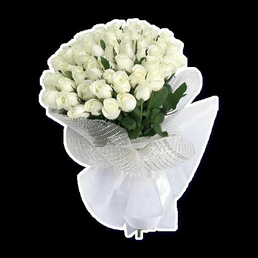 White Flowers @ykinanah - Sticker 19