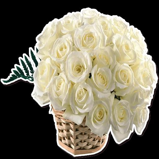 White Flowers @ykinanah - Sticker 25