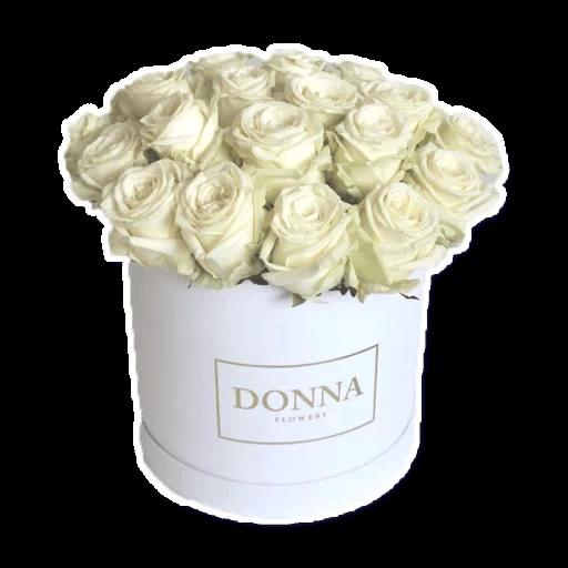 White Flowers @ykinanah - Sticker 6