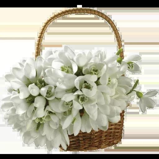 White Flowers @ykinanah - Sticker 22
