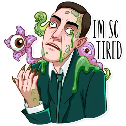 Lovecraft - Sticker 18