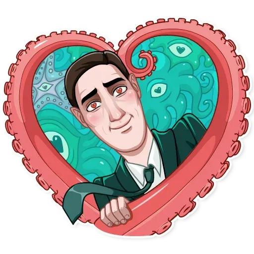Lovecraft - Sticker 24