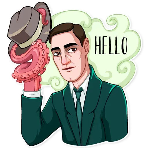 Lovecraft - Sticker 5