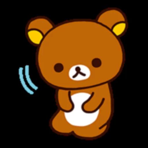 懶熊 - Sticker 19