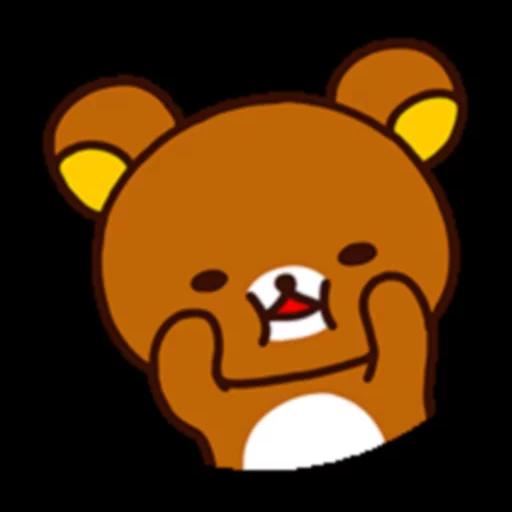 懶熊 - Sticker 4