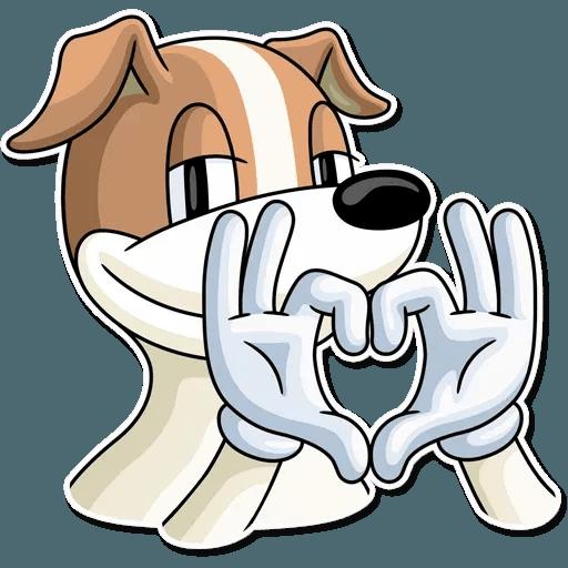 Dog lol - Sticker 17