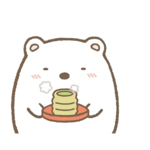 sumikko gurashi 1 - Tray Sticker
