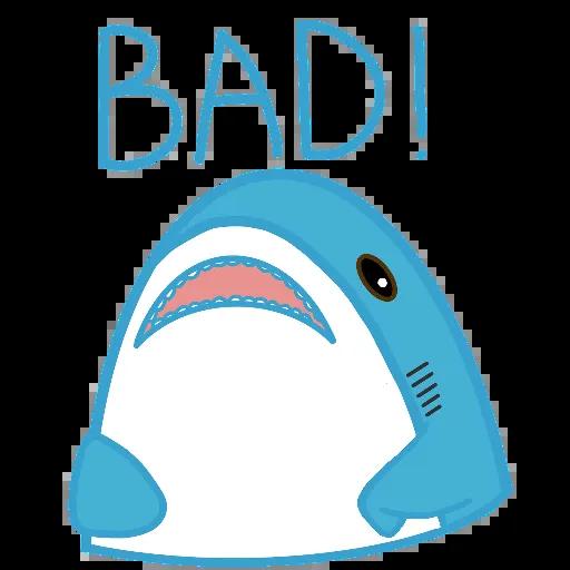 鯊魚哥1 - Sticker 4
