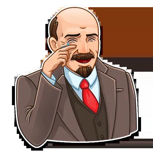 Lenin - Tray Sticker
